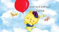 小熊追气球